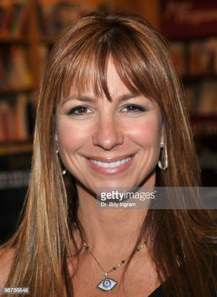 Jill Zarin signs copies of her book Secrets of a Jewish Mother at Borders Books And Music on April 28 2010 in Costa Mesa California