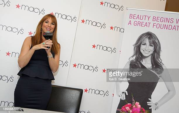 74d5f74ee8 Jill Zarin speaks at Macy s Herald Square on February 21 2012 in New York  City