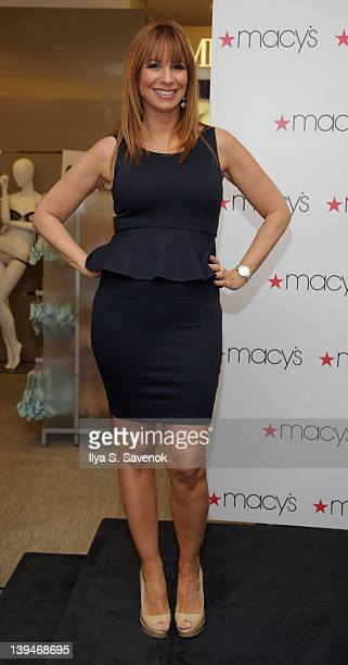 ed0e22b163 TV personality Jill Zarin promotes her shapewear line Skweez Couture at Macy s  Herald Square on February. ED. Editorial use only. Jill Zarin visits Macy s  ...