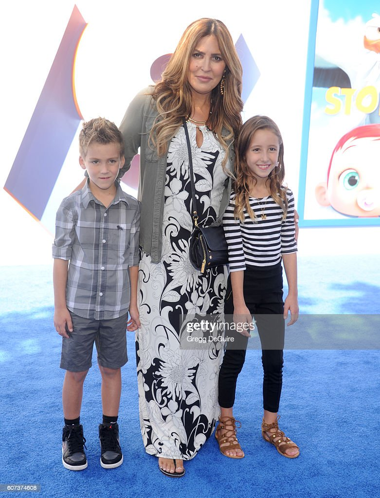 Jillian Barberie arrives at the premiere of Warner Bros. Pictures' 'Storks' at Regency Village Theatre on September 17, 2016 in Westwood, California.