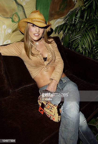 Jillian Barberie during Maxim Hot 100 Party Inside at Yamashiro in Hollywood California United States