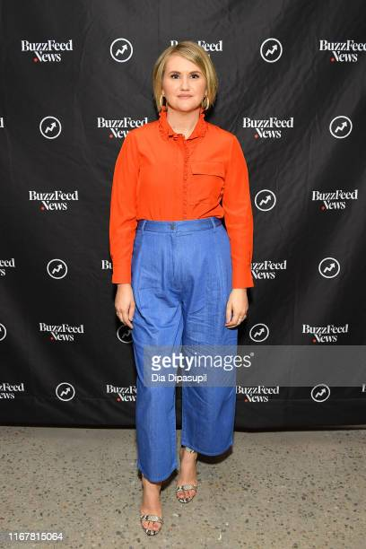 Jillian Bell at BuzzFeed's AM to DM on August 13 2019 in New York City