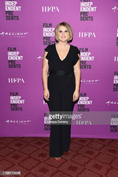 Jillian Bell attends Film Independent presents special screening of Brittany Runs A Marathon at ArcLight Hollywood on August 14 2019 in Hollywood...