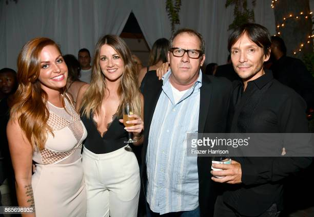 Jillian Cherry Brittany Stevens Herbert Steidle and Ken Paves at the grand opening of the new Ken Paves Salon hosted by Eva Longoria on October 23...