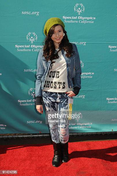 Jillian Clare attends the Special Olympics Southern California's 40th Anniversary at Santa Monica Pier on October 4 2009 in Santa Monica California