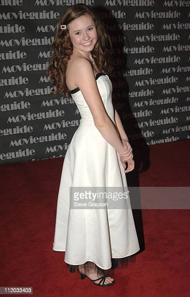 Jillian Clare during 14th Annual Movieguide Faith and Values Awards in Los Angeles California United States
