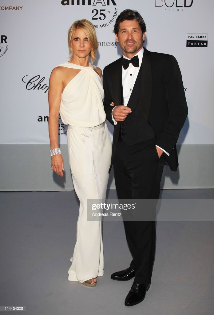 Jillian Dempsey and Patrick Dempsey attends amfAR's Cinema Against AIDS Gala during the 64th Annual Cannes Film Festival at Hotel Du Cap on May 19, 2011 in Antibes, France.