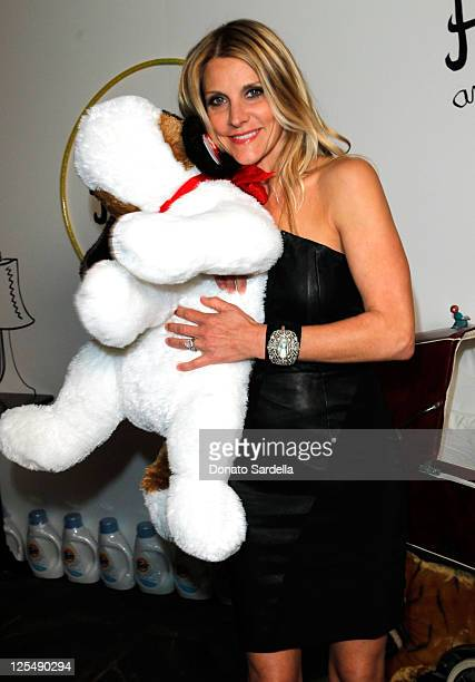 Jillian Dempsey attends the alice olivia by Stacey Bendet Holiday Party For Baby Buggy held at Soho House on December 6 2010 in West Hollywood...