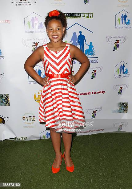 Jillian Estell attends DJanai's Angels 3rd Annual Special Needs Family Prom on June 5 2016 in Los Angeles California