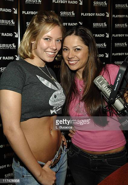 Jillian Grace and Pilar Lastra hosts of The Playmate Hour