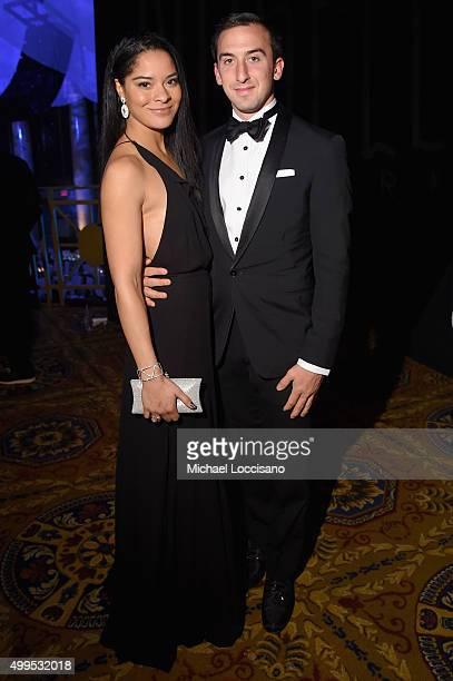 Jillian Gumbel and William Robins attend 11th Annual UNICEF Snowflake Ball Honoring Orlando Bloom Mindy Grossman And Edward G Lloyd at Cipriani Wall...