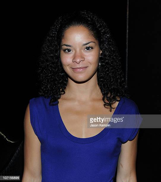 Jillian Gumbel attends the benefit for UNICEF's recovery efforts in Haiti at 1OAK on June 16 2010 in New York City