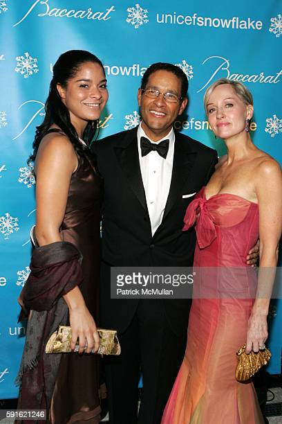 Jillian Gumbel Bryant Gumbel and Hilary Gumbel attend Baccarat Presents the 2nd Annual UNICEF SNOWFLAKE BALL at WaldorfAstoria Hotel on November 28...