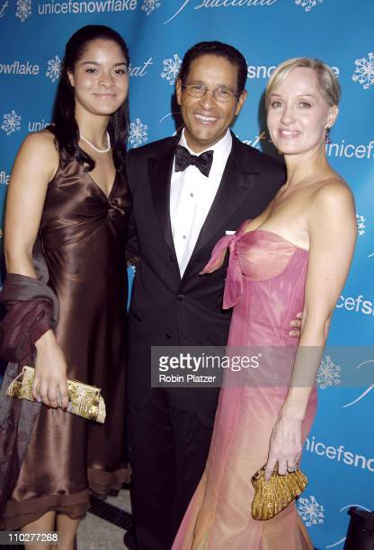 Jillian Gumbel Bryant Gumbel and Hilary Gumbel during 2nd Annual UNICEF Snowflake Ball Arrivals at The Waldorf Astoria Hotel in New York City New...