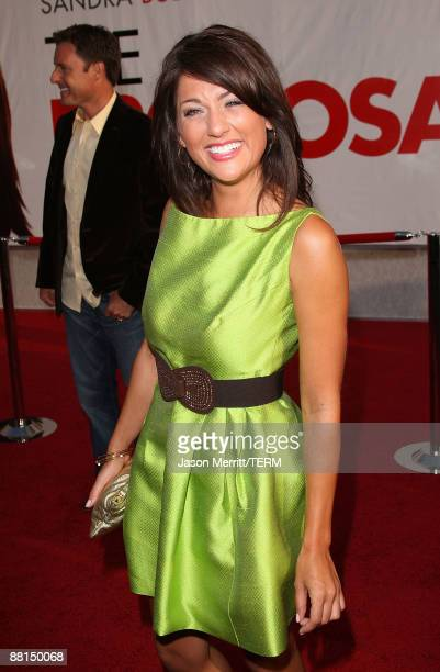 Jillian Harris arrives at the premiere of Touchstone Pictures' 'The Proposal' held at the El Capitan Theatre on June 1 2009 in Hollywood California