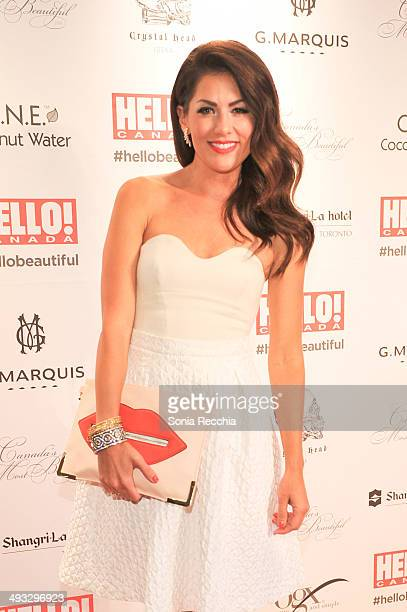 Jillian Harris attends HELLO! Canada Gala Celebrates Canada's Most Beautiful Gala at Shangri-La Hotel on May 22, 2014 in Toronto, Canada.