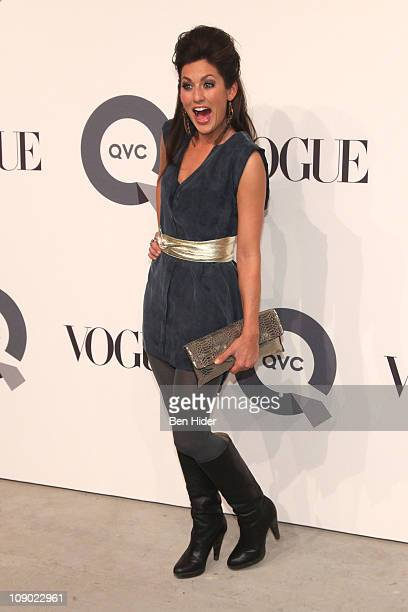Jillian Harris attends the QVC 25 to watch party at 229 West 43rd Street on February 11 2011 in New York City