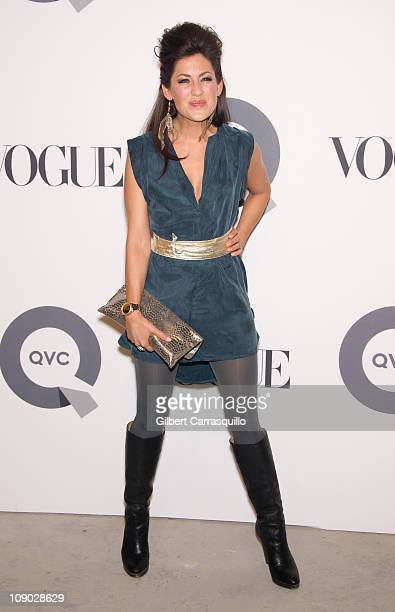 Jillian Harris attends the QVC 25 to watch party at 229 West 43rd Street on February 11, 2011 in New York City.