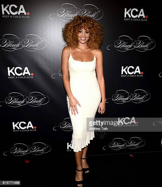 Jillian Hervey attends Keep a Child Alive's 13th annual Black Ball at Hammerstein Ballroom on October 19 2016 in New York City