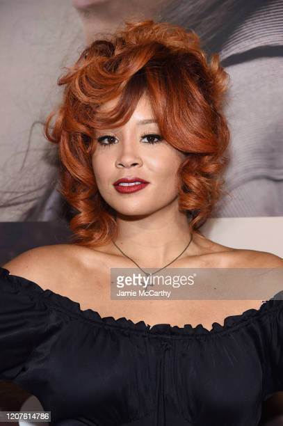 Jillian Hervey attends the opening night of West Side Story at Broadway Theatre on February 20 2020 in New York City