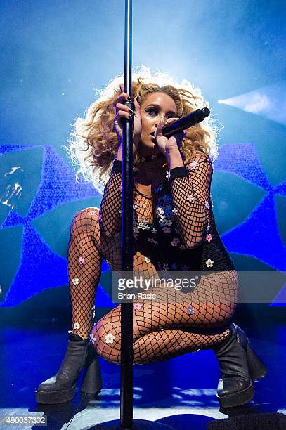 Jillian Hervey of Lion Babe perform during the Apple Music Festival 2015 at The Roundhouse on September 25 2015 in London England