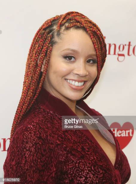 Jillian Hervey poses at The 7th Annual #KnockOutHeartDisease Campaign Launch at Burlington Union Square on February 6, 2018 in New York City.