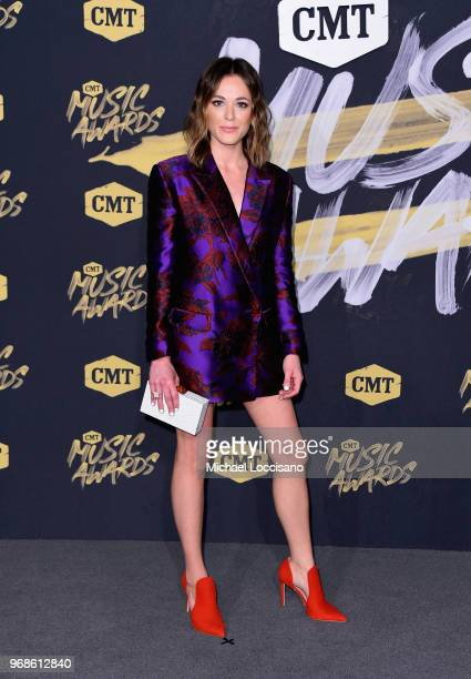 Jillian Jacqueline attends 2018 CMT Music Awards at Bridgestone Arena on June 6 2018 in Nashville Tennessee