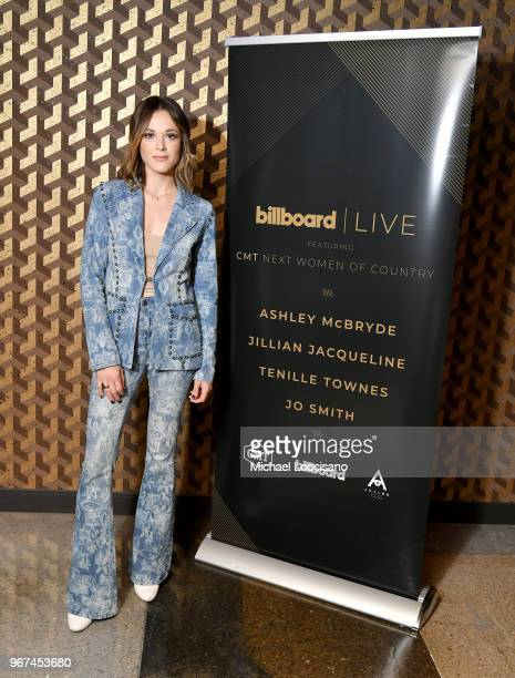 Jillian Jacqueline attends Billboard Live Featuring CMT Next Women Of Country at Analog at the Hutton Hotel on June 4, 2018 in Nashville, Tennessee.