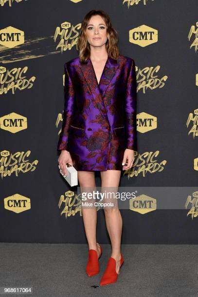 Jillian Jacqueline attends the 2018 CMT Music Awards at Bridgestone Arena on June 6 2018 in Nashville Tennessee