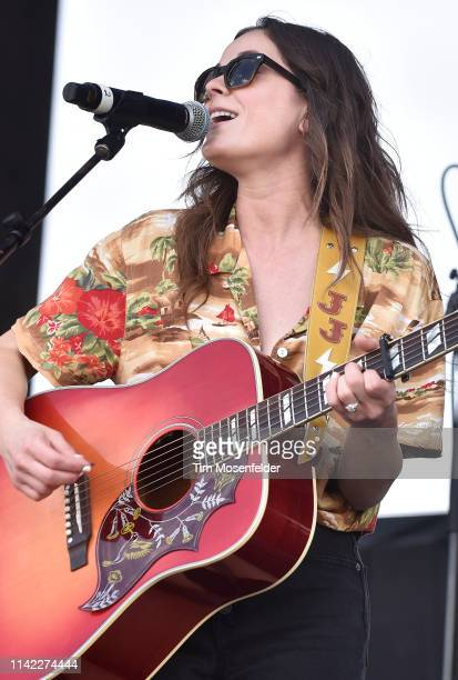 Jillian Jacqueline performs during the 2019 Tortuga Music Festival on April 12, 2019 in Fort Lauderdale, Florida.