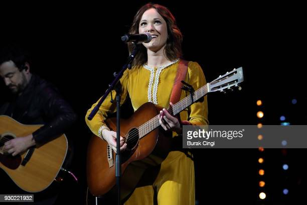 Jillian Jacqueline performs on day 2 of C2C Country to Country festival at The O2 Arena on March 10 2018 in London England