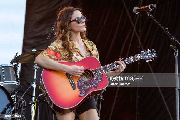 Jillian Jacqueline performs onstage during Day 1 at Tortuga Music Festival on April 12, 2019 in Fort Lauderdale, Florida.