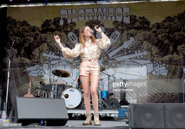 Jillian Jacqueline performs onstage during day 1 of Pilgrimage Music Cultural Festival 2018 on September 22 2018 in Franklin Tennessee