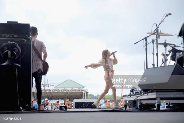Jillian Jacqueline performs onstage during day 1 of Pilgrimage Music & Cultural Festival 2018 on September 22, 2018 in Franklin, Tennessee.