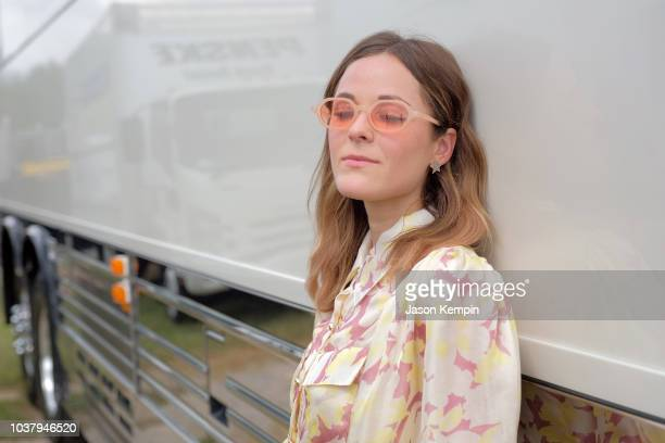 Jillian Jacqueline takes photos backstage during day 1 of Pilgrimage Music Cultural Festival 2018 on September 22 2018 in Franklin Tennessee