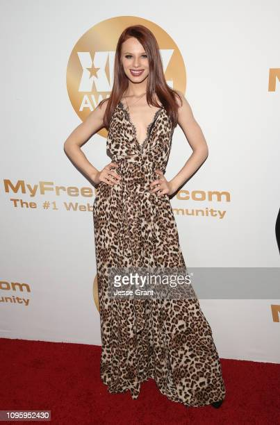 Jillian Janson attends the 2019 XBIZ Awards on January 17 2019 in Los Angeles California