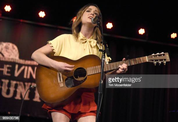 Jillian Jaquelyn performs at the Jam Cellars Ballroom during Live In The Vineyard Goes Country on May 16 2018 in Napa California