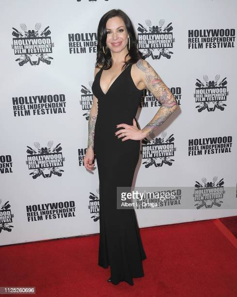 Jillian Lauren arrives for The 2019 Hollywood Reel Independent Film Festival held at Regal LA Live Stadium 14 on February 15 2019 in Los Angeles...