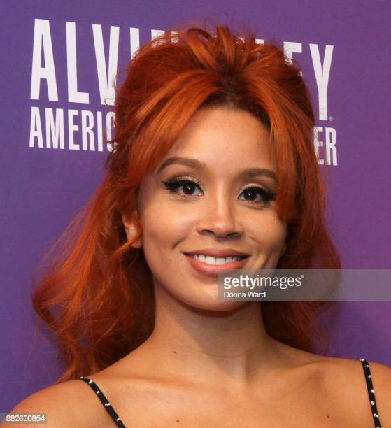 Jillian 'Lion Babe' Hervey attends Alvin Ailey's 2017 Opening Night Gala at New York City Center on November 29 2017 in New York City
