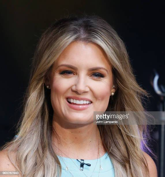 Jillian Mele attends as Shawna Thompson and Keifer Thompson of Thompson Square perform on Fox Friends summer concert on June 1 2018 in New York City