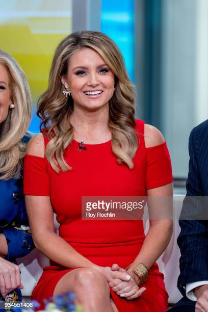 Jillian Mele of Fox Friends to discuss 'Maroln Bundo's a day in the life of The Vice President' with Charlotte and Karen Pence at Fox News Studios on...