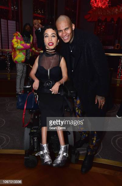 Jillian Mercado and a guest attend Alex Wang's Big Trouble In Little China At The Rainbow Room Powered by Cash App on February 9 2019 at The Rainbow...