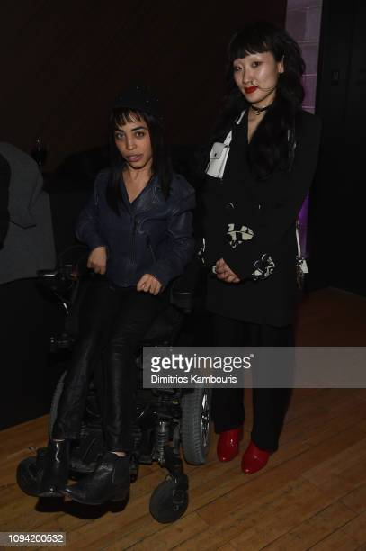 Jillian Mercado attends the Jump Into Spring MICHAEL Michael Kors Spring 2019 Launch Party at Dolby Soho on February 5 2019 in New York City