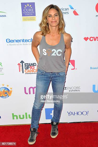Jillian Michaels arrives at the Hollywood Unites for the 5th Biennial Stand up to Cancer A Program Of The Entertainment Industry Foundation at Walt...