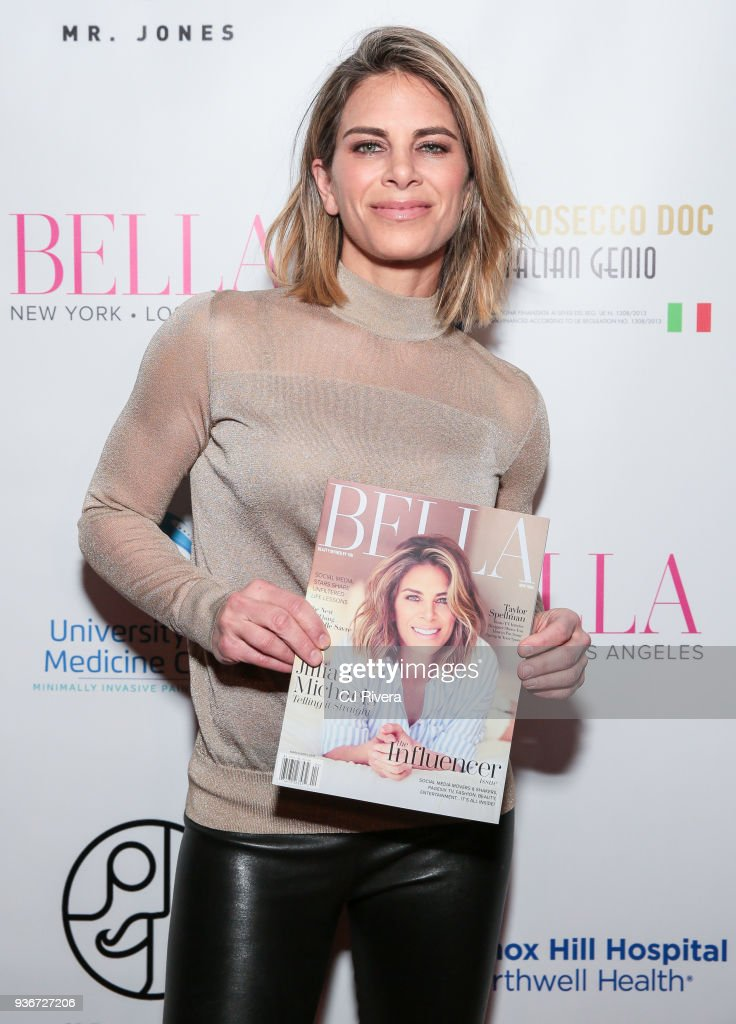 Jillian Michaels Hosts Bella New York's Influencer Cover Party