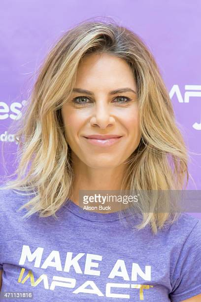 Jillian Michaels attends KMart And Jillian Michaels Team Up For March For Babies at KMart Los Angeles Walk on April 25 2015 in Los Angeles California