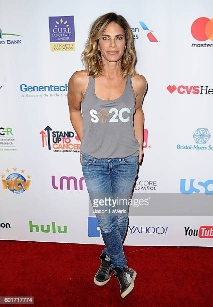 Jillian Michaels attends Stand Up To Cancer 2016 at Walt Disney Concert Hall on September 9 2016 in Los Angeles California
