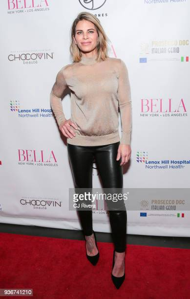 Jillian Michaels attends the Bella New York's Influencer Cover Party at Mr Jones on March 22 2018 in New York City