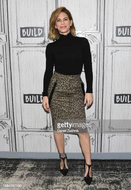 Jillian Michaels attends the Build Brunch at Build Studio on December 18 2018 in New York City