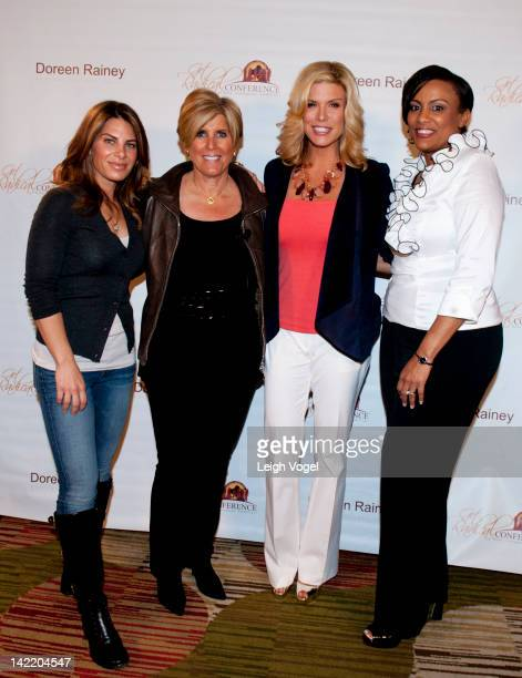 Jillian Michaels Suze Orman Ali Brown and Doreen Rainey attend the 4th Annual Get Radical Women's conference at the Hyatt Regency on March 31 2012 in...